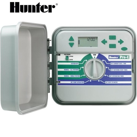 Контроллер Hunter Pro C 301-E, 3-12 зон,220 V наружный