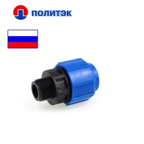 """Муфта 32x3/4"""" наружная резьба ТПК"""