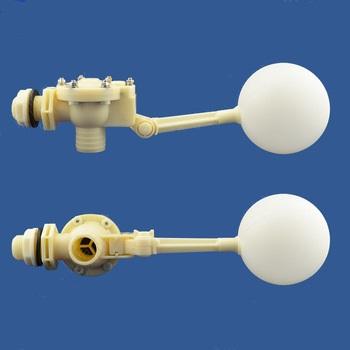 Клапан поплавковый 1 дюйм пластиковый (белый)