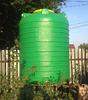 Емкость цилиндрическая вертикальная 3000 литров (зеленая)