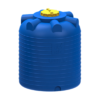 Емкость цилиндрическая вертикальная 2000 литров (синяя)