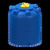 Емкость 2000 литров вертикальная пластиковая синяя