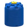 Емкость цилиндрическая вертикальная 3000 литров (синяя)