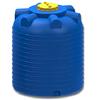 Емкость 5000 литров цилиндрическая синяя