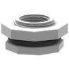 Фитинг 50 мм пластиковый 2 дюйма внутренняя резьба