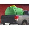 Емкость 500 литров цилиндрическая горизонтальная (зеленая)