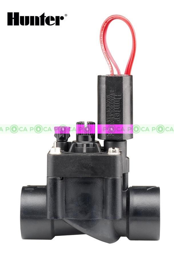 """Магнитный клапан Hunter PGV-101-G-B 1"""" с внутренней резьбой и регулятором расхода"""