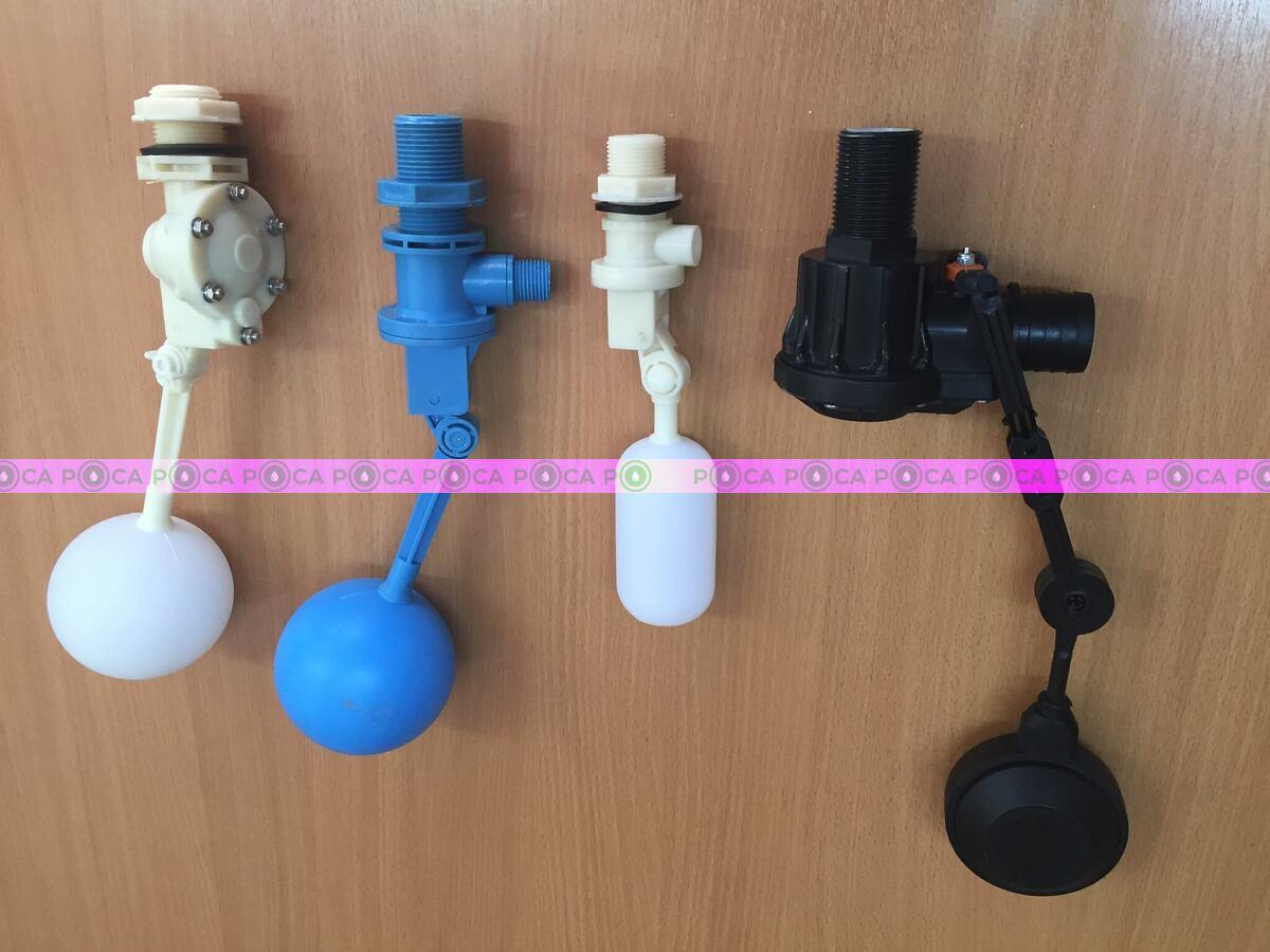 клапан поплавковый 1 дюйм (разборный,белый)