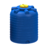 Емкость цилиндрическая вертикальная 1000 литров (синяя)