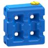Емкость прямоугольная 2000 литров (синяя)